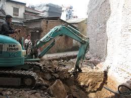 Đơn vị chuyên đào móng nhà
